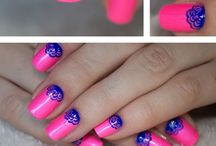 Nails / Nail colour nail art and design  / by Cass Mitchell