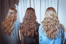 Heart-eyes hair / Every girl's OBSESSION.