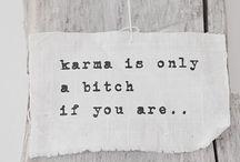 Words of Wisdom / Words, words...