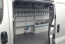 Van Racking Systems / A variety of commercial vehicle racking systems available from www.vanax.co.uk