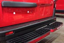 Rear Bumper Protection / A variety of rear bumpers & steps for commercial vehicles available from www.vanax.co.uk