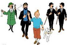 TINTIN signé HERGÉ / TINTIN HORS ALBUM par Hergé —  FACEBOOK & INSTAGRAM