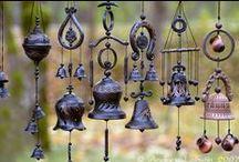 Wind Chimes, Sun Catchers, Driftwood & Wall Hangings / So many ideas......... / by Lorri McDaniel