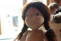 výroba bábik / bábiky, návody, strihy .....