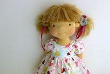 bábiky, Puppen, dolls ... / waldorf