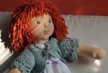 Moje  bábiky- meine Puppen /  moja prvá waldorf bábika Margarétka ... a  dˇalšie dve Bella a Maruška