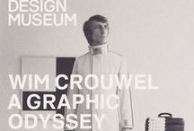 Wim Crouwel / Typography work Wim Crouwel different years