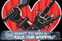 Rockstar Wedding Contest / Beginning 12/21/15 through 1/22/16 you can enter for a chance to win a ROCKSTAR #WEDDING!  Moe's fans are invited to submit a photo or video to rockstarwedding@moes.com telling us why you want Moe's to cater your big day. Just let us know where you're planning to have your wedding and rehearsal dinner (City and State), as well as your potential wedding date, if you have it.  That's not all—there will be two more prize winners!   / by Moe's Southwest Grill