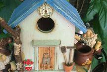 Райские домики / Как создать уют для птиц