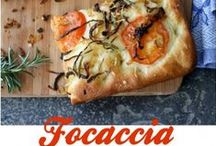 In love with Focaccia Bread ! / www.weexpo.it