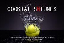 Cocktails / We have a passion for classic cocktails and vintage barware. Follow our blog: CocktailsNTunes.com or on Instagram @cocktailsntunes