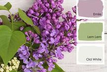 Color Inspiration / Unique color palettes using Chalk Paint® by Annie Sloan colors. Inspired by art, nature, architecture, and more.