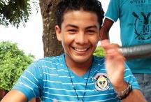 """Primera visita a Manatí, Atlántico / Beneficiarios del proyecto """"Cultura en los Albergues"""" en Manatí, Atlántico. Fotos: Sandra Preciado R"""
