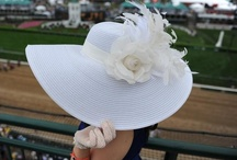 Kentucky Derby / Our salute to the Kentucky Derby. Truly the number one hat fashion event of the year in the States as well as the most exciting two minutes in sports.