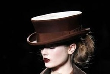 Hats in Fashion / Some wonderful designer hats that have graced the runways and catwalks.
