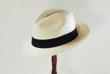 Panama Hats / Panama's are handwoven hats made from the fibers of the toquilla palm in Ecuador.  Following the trade routes out of the Isthmus of Panama to North America, Europe and Asia, these hats became known primarily from their point of export, rather than manufacture, and the name has persisted ever since. The hat bodies are meticulously hand-woven, refined, edged, smoothed and bleached by Ecuadorian artisans, then travel to hatters all over the world who block and trim the hats into familiar styles.