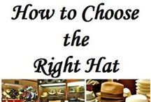 Hat Knowledge / Everything and more you could ever possibly want to know about hats!