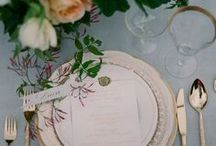 Wedding Tablescapes / A selection of gorgeous table settings for weddings & dinner parties