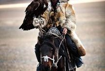 Nomadic Tribes Men / Nomadic Tribal Men and boys, fantastic photography of faces and  nomadic or tribal costumes.