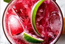 Drink / Sparkling sangria, mojito, lemonade, cocktail