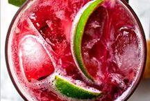Drink / Sparkling sangria, mojito, lemonade, cocktail