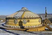 Tribal Tents & Yurts / Tribal tents, Nomadic Yurts and Travelling life on the Road.