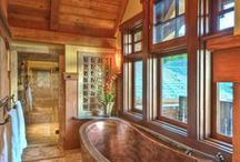 Bathrooms with a special Ethnic or Tribal look