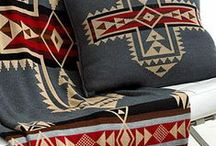 Tribal Blankets patterns / Blankets and Throws with tribal or native patterns themes