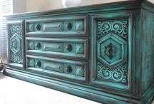 Furniture Makeover / There's nothing like turning an old piece of furniture into a beautiful peice. / by Noy