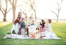 Pack a Picnic / and enjoy the great outdoors