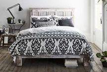 Nomads Bedding / Bedding and duvet sets with a Nomadic, Ikat or Tribal look.