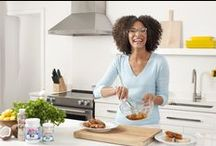 Chef Carla Hall + LouAna Coconut Oil / Get delicious recipes from our new chef!
