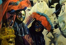 Carnival of Venice / Venice masks in Carnival