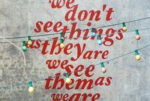 Words, words, words. Om te lachen, troosten, inspireren...