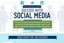 Social Media / A collection of social media infographs, ideas and quotes.