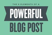 Blogging / Blogging tips and tricks