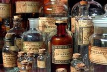 Altered Bottles, Tins & Containers