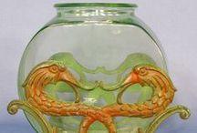 More Fish Bowls, Stands & Aquariums Antq & Vtg / by Beth Rickert-Kinsey