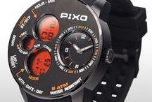PX-5 Time Panel / Dual time display, strong and heavy duty design, multi-eyes design, multi-funciton including: Stopwatch, Alarm and hourly chime. Please see the details at : pixowatch.com