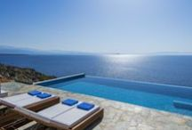 Blue Passion / Holiday villas with private pool and magnificent view of the sea