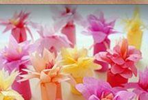 Florcitas a papel