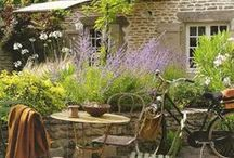 Provence/France / Beautiful landscapes and houses in Provence!