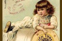 photos publicitaires anciennes (couture...)