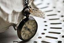 horloges, engrenage, heure, temps