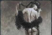 Nightlife / Nocturne, erotic and party-themed artworks.