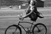 People And Bike