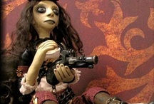 The Steampunk Doll Artist / by Art Dolls Only
