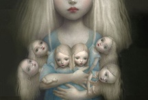 Doll Art & Illustration / by Art Dolls Only