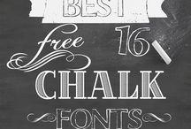 Schriftarten/ Fonts/Handschrift