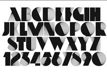 Alphabets / Fonts